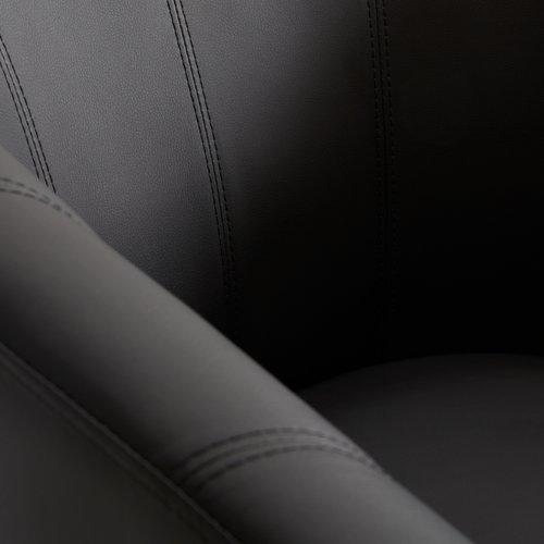 Fotel SINDAL fekete