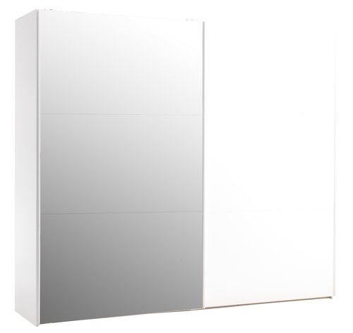 Szafa ONSTED 250x221 z lustrem biały