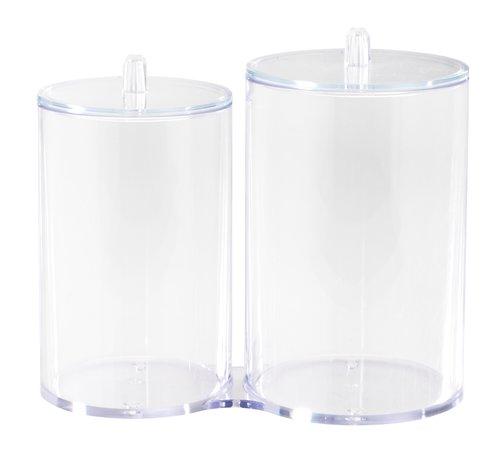 Opbevaringskrukke BRANTEVIK m/låg plast