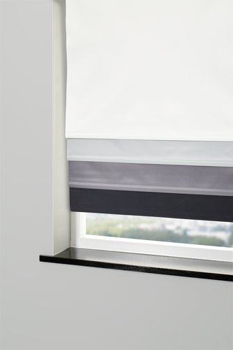 Blackout blind BOLGA 60x170cm cream