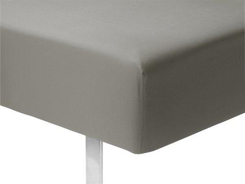 Cearsaf elastic Micro 180x200x25cm gri