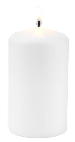 Lumânări groase GUNVALD 7x12cm albe