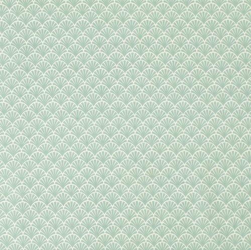 Textilvaxduk BOTNEGRAS 140 grön
