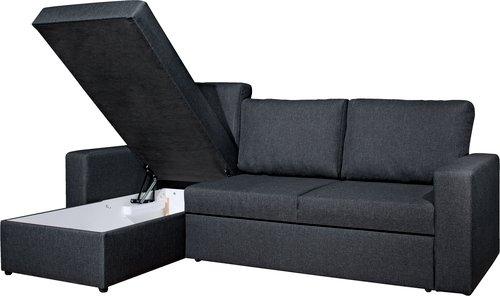 Canapea extensibilă sezlong VILS gri