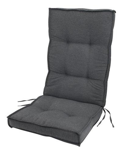 Pernă scaun reglabil REBSENGE gri închis