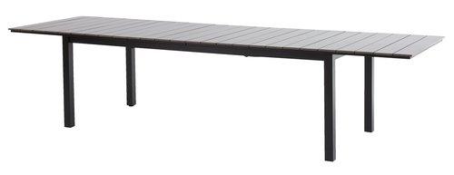 Стіл MOSS 95x214/315см сірий