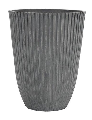Горщик MYGGA д.29 в.36см сірий
