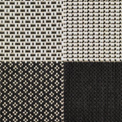 Χαλί RIPS 130x193 μαύρο/μπεζ
