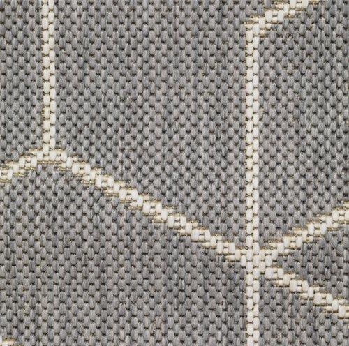 Vloerkleed BALSATRE 160x230 grijs/wit