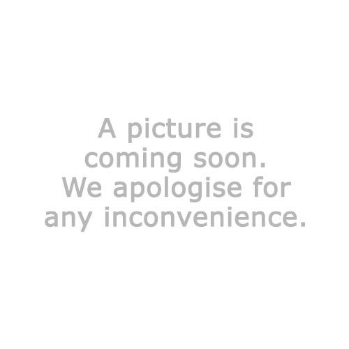 Pyntepute BUKKEBLAD 50x50 svart/blå