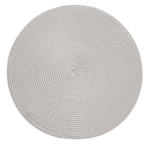 Place mat KUNGSMYNTA D38 silver grey