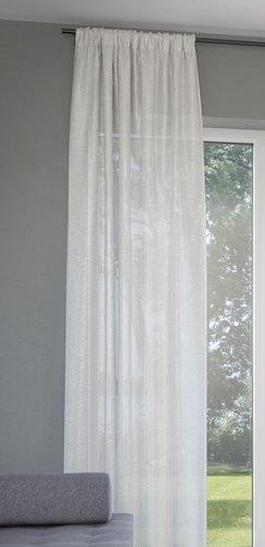 Rideau LOPPA 1x135x300cm froissé b. ca.