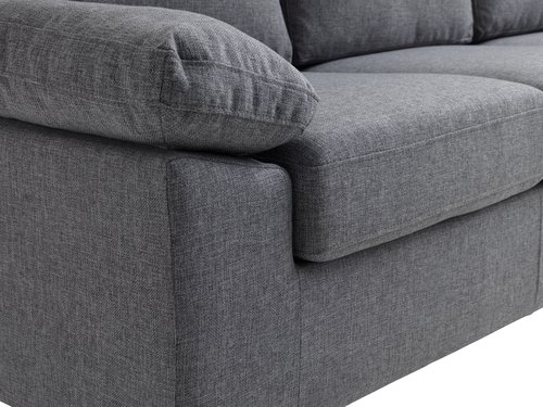 Sofa GEDVED 3-pers. grå