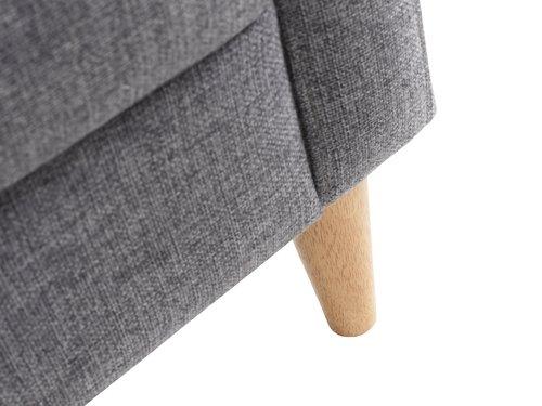 Fotelja GEDVED siva