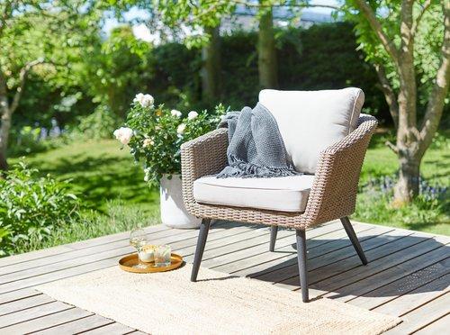 Καρέκλα σαλονιού κήπου VEBBESTRUP φυσικό