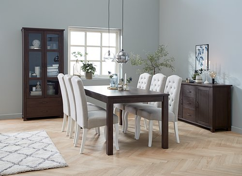 Trp. stol RAMSING 90x180 tamnosmeđa
