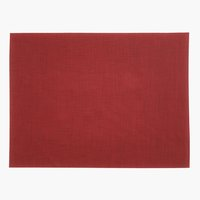 Placemat VALLMO 33x42 rood