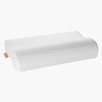 Pillow WELLPUR VOSS white 30x50x10/7