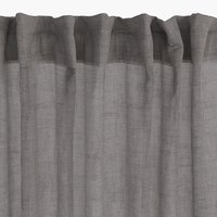 Curtain UNNEN 1x140x245 linen-look grey