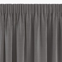 Rideau AUSTRA 1x140x300cm velours gris
