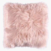 Pernă TAKS 40x40 imitatie blană roz