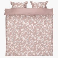 Duvet cover DAGMAR Sateen KNG rose