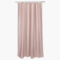 Shower curtain MARIEDAL 150x200 rose