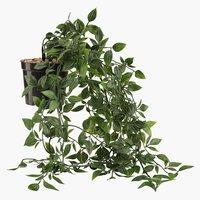 Umjetna biljka OLIVER s visećom teglom
