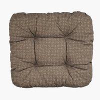 Sedežna blazina HASSELURT 40x40x8 rjava