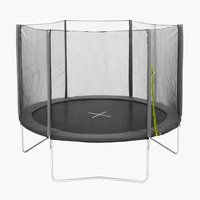 Trampoline STOJ D305 w/safety net grey