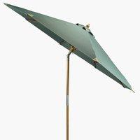 Market parasol LEMVIG D300 green