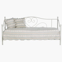 Bed frame RINGE SGL cream