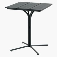 Bistro table ORTEN W58xL58 black