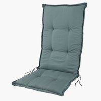 Cushion recliner chair LANGMOSE green