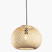 Hanglamp SIGVARD Ø35xH25cm bamboe