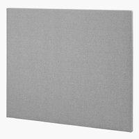 Sänggavel 140x115 H10 PLAIN grå-23