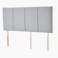 Headboard 180 GOLD H10 high DREAMZONE
