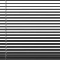 Persienne aluminium 110x160cm grå