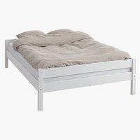Bed frame VESTERVIG DBL white