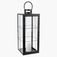 Lámpás VILLADS SZ20xH20xMA50cm fekete