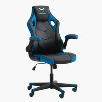 Gaming chair VOJENS black/blue