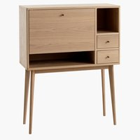 Console table SVANEKE 36x90 oak