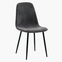 Jedálenská stolička JONSTRUP sivá