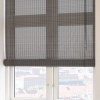 Roller blind bamboo BYRE 140x160 grey