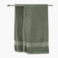 Ręcznik KARLSTAD 70x140 zielony KRONBORG