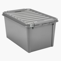 Storage box SMARTSTORE 45 w/lid recycled