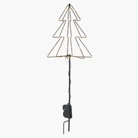 Christmas tree STALL H80cm w/LED