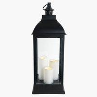 Lanterne AUGIT B24xL24xH65cm m/LED