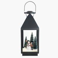 Lanterne MYLING B19xL19xH47cm m/LED