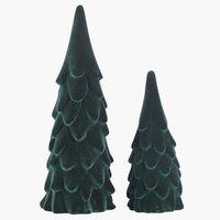 Kerstboom MERLINIT H16/23cm 2st/pk